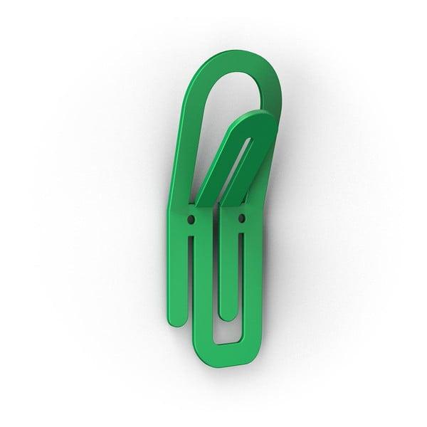 Zielony haczyk Clip