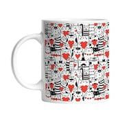 Ceramiczny kubek Cats in Love, 330 ml
