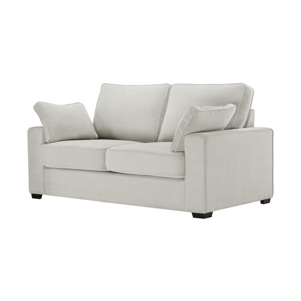 Sofa dwuosobowa Jalouse Maison Serena, kremowa