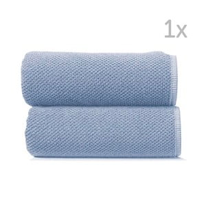 Jasnoniebieski ręcznik kąpielowy Graccioza Bee, 70x140cm