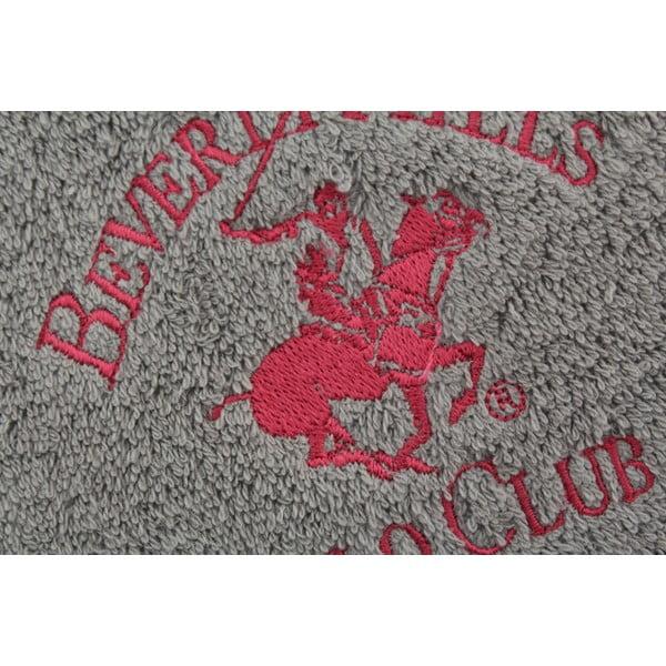 Ręcznik bawełniany BHPC 50x100 cm, szary