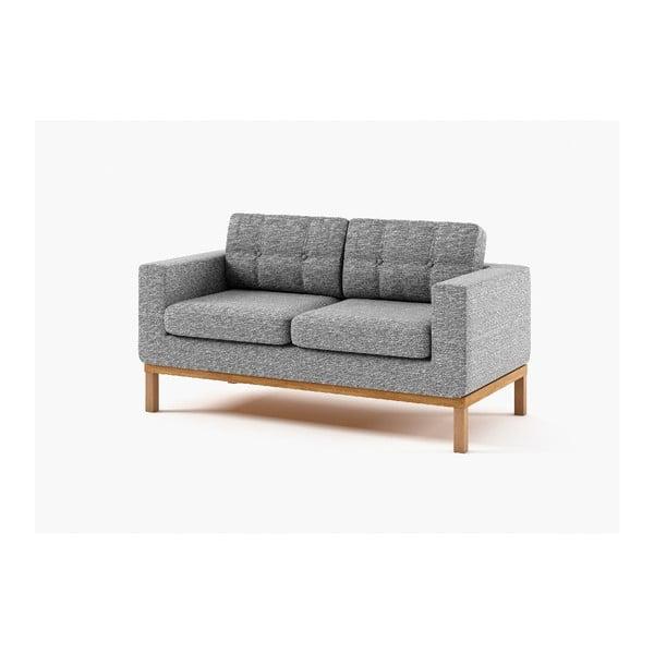 Dwuosobowa sofa Bolton, szara