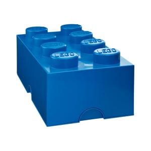 Niebieski pojemnik prostokątny LEGO®