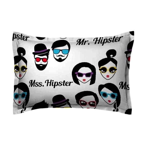 Poszewka na poduszkę Hipster Face, 70x90 cm
