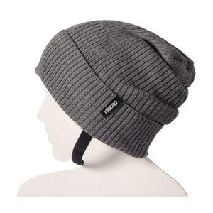 Szara czapka ochronna Ribcap Lenny, L