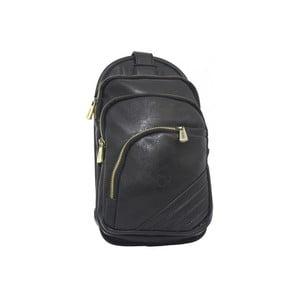 Plecak Bobby Black - czarny, 15x28 cm