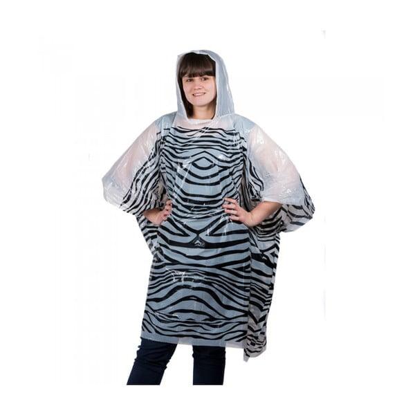 Ponczo przeciwdeszczowe Emergency Rain, zebra
