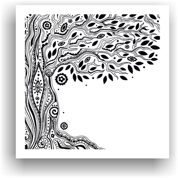 Obraz do kolorowania 15, 50x50 cm
