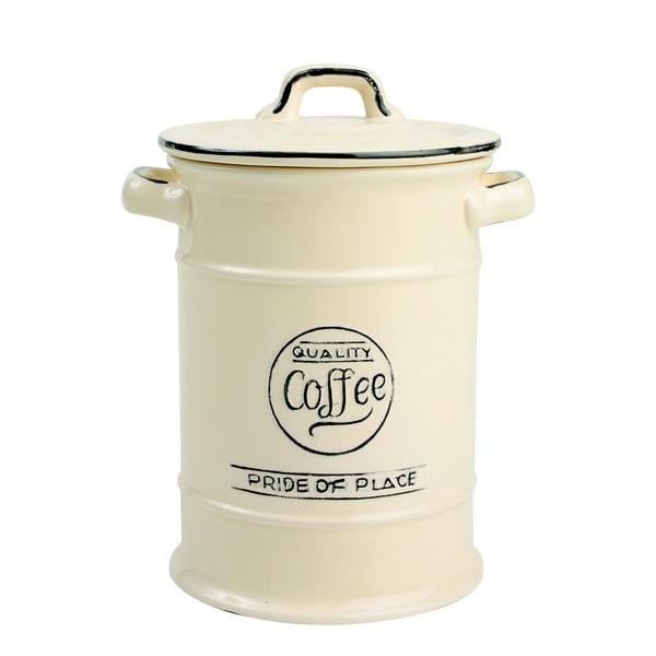 Kremowy pojemnik porcelanowy na kawę T&G Woodware Pride of Place