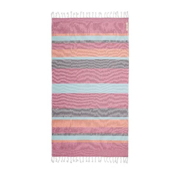Ręcznik hammam Breeze Colorful I, 95x150 cm