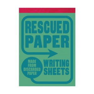 Blok Chronicle Books Rescued Paper Writing Sheets