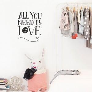Naklejka dekoracyjna na ścianę All You Need