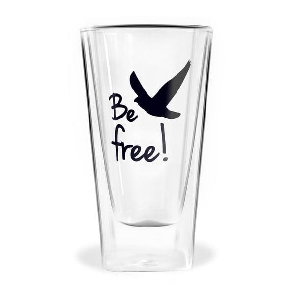 Szklanka z podwójną ścianką Vialli Design Be Free, 300 ml