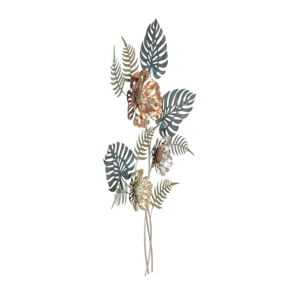 Żelazna dekoracja ścienna z przyrodniczymi motywami Mauro Ferretti Too, wys.98 cm