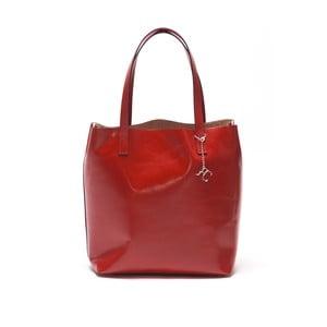 Skórzana torebka Renata Corsi 3001 Rosso