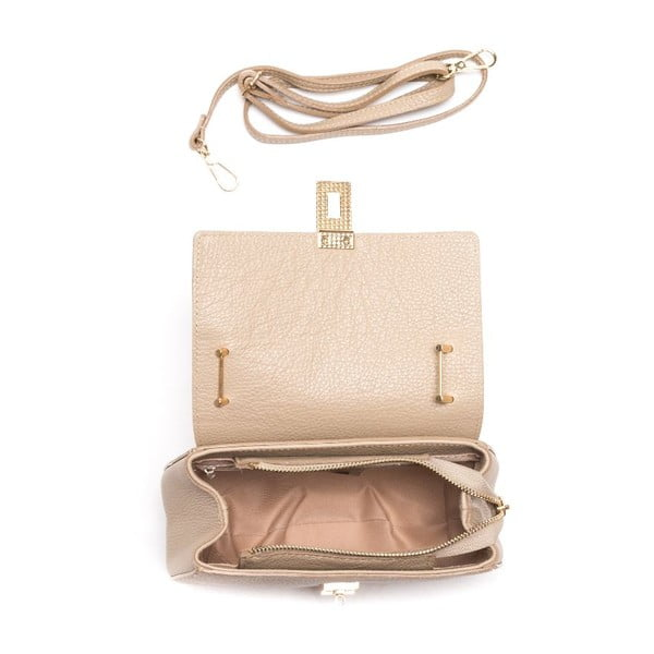 Skórzana torebka Roberta M 1092 Fango