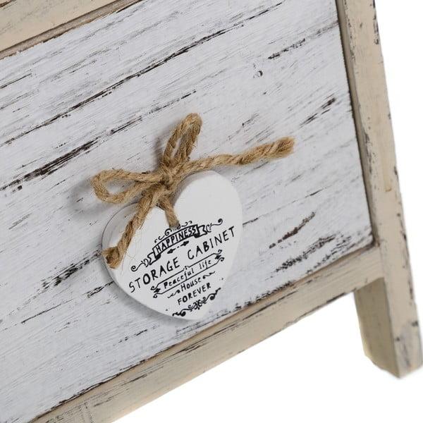 Komoda z szufladami Coeurs, 63x26 cm