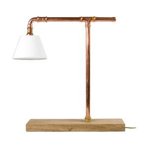 Miedziana lampa stołowa Copper