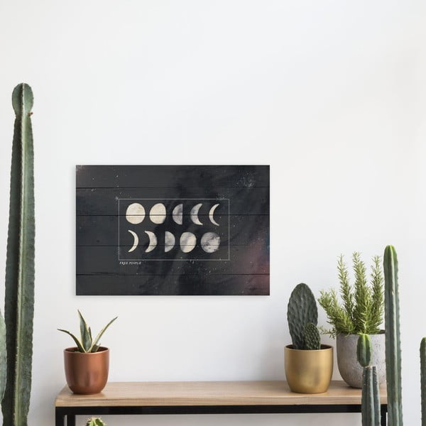 Drewniana tablica Really Nice Things Moon