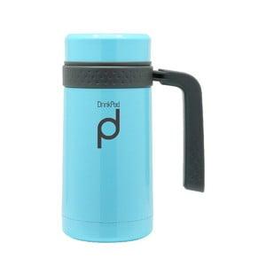 Niebieski kubek termiczny Pioneer Drinkpod , 450 ml