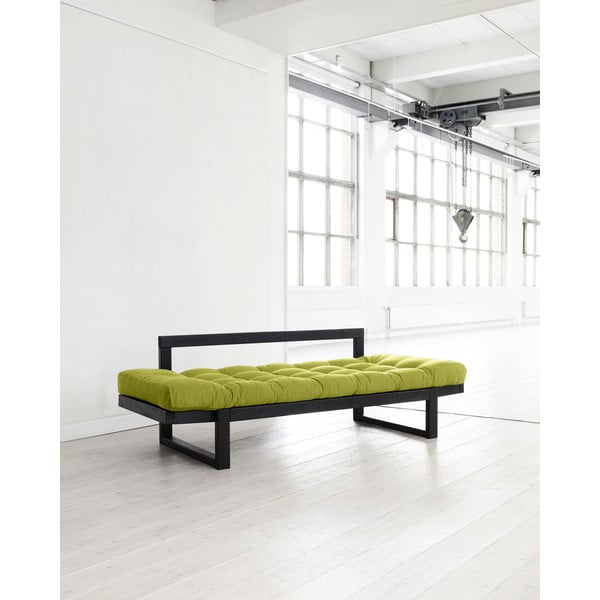 Sofa Karup Edge Black/Pistachio