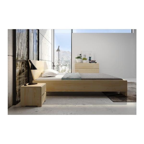 Łóżko 2-osobowe z drewna sosnowego SKANDICA Vestre Maxi, 200x200 cm