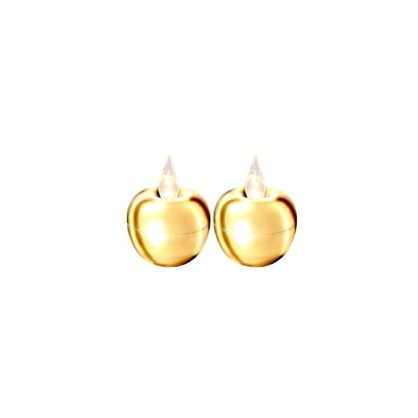 Zestaw 2   dekoracji świetlnych Best Season Apple Gold