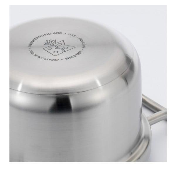 Garnek ze stali nierdzewnej BK Cookware Q-linair Master, 16cm