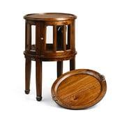 Okrągły stolik ze schowkiem Moycor