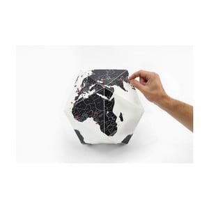Czarny globus składany Palomar Here, 41cm