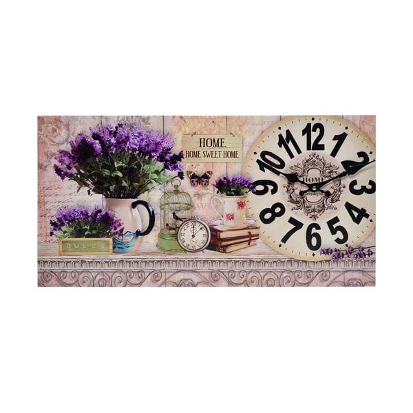 Zegar w obrazie Lavender