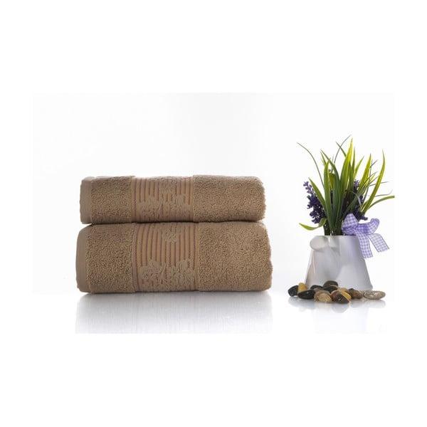 Zestaw 2 ręczników Suave V3, 50x90 cm + 70x140 cm