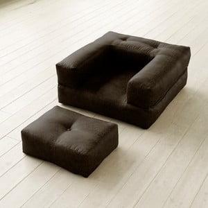 Fotel rozkładany Karup Cube Mocca