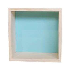 Dekoracja Cubo Nordic Aqua M