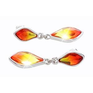 Kolczyki   z kryształami Swarovskiego® Yasmine Helle Fire