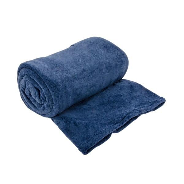 Narzuta na łóżko Sherpa Blue, 240x260 cm