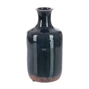 Wazon Dark Petrol, 13x13x26 cm