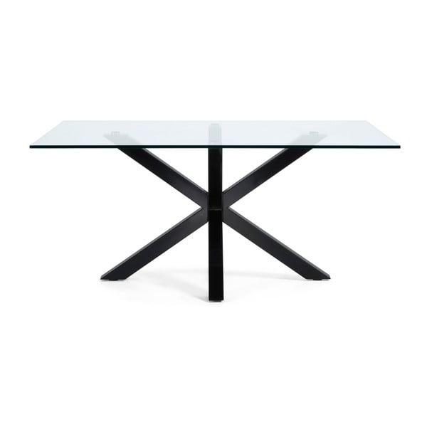 Stół do jadalni Arya, 180x100cm, czarne nogi