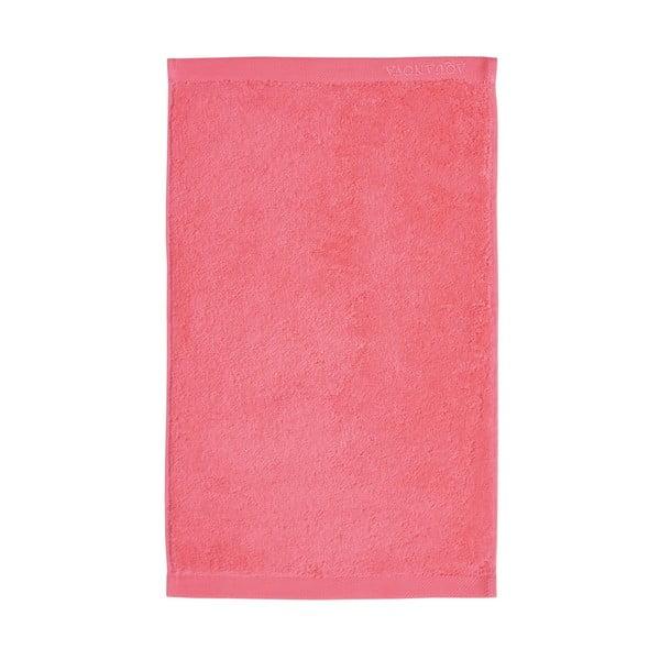 Koralowy ręcznik Aquanova London, 30x50 cm