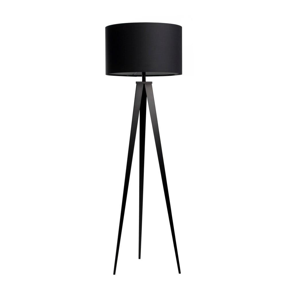 Czarna lampa stojąca Zuiver Tripod