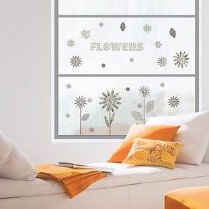 Naklejka na okno Pattern Flowers