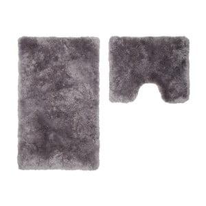 Zestaw 2 dywaników łazienkowych z wcięciem Spotlight Silver