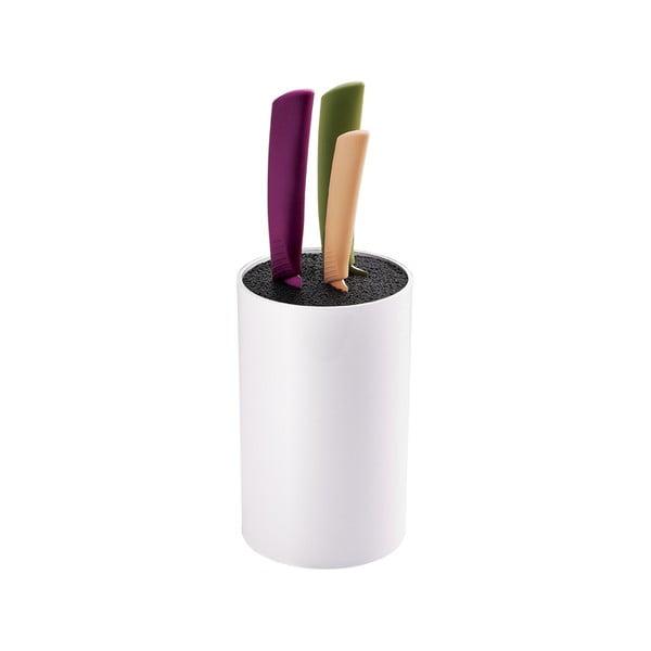 Zestaw noży ze stojakiem Colour, 4 szt.