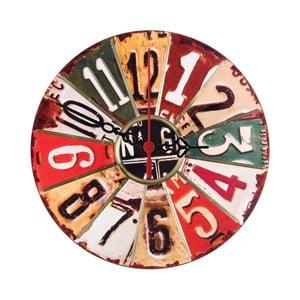 Zegar ścienny Numbered, 30 cm