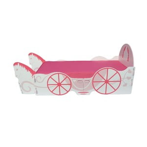 Dziecięce łóżko Princess Carriage Single, 238x101,5x100 cm