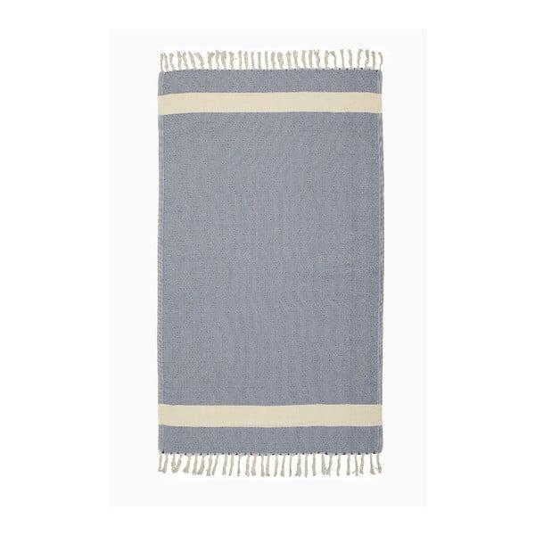 Ręcznik hammam Diamonds Blue, 100x180 cm
