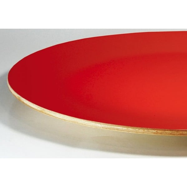 Drewniany talerz Pure Red