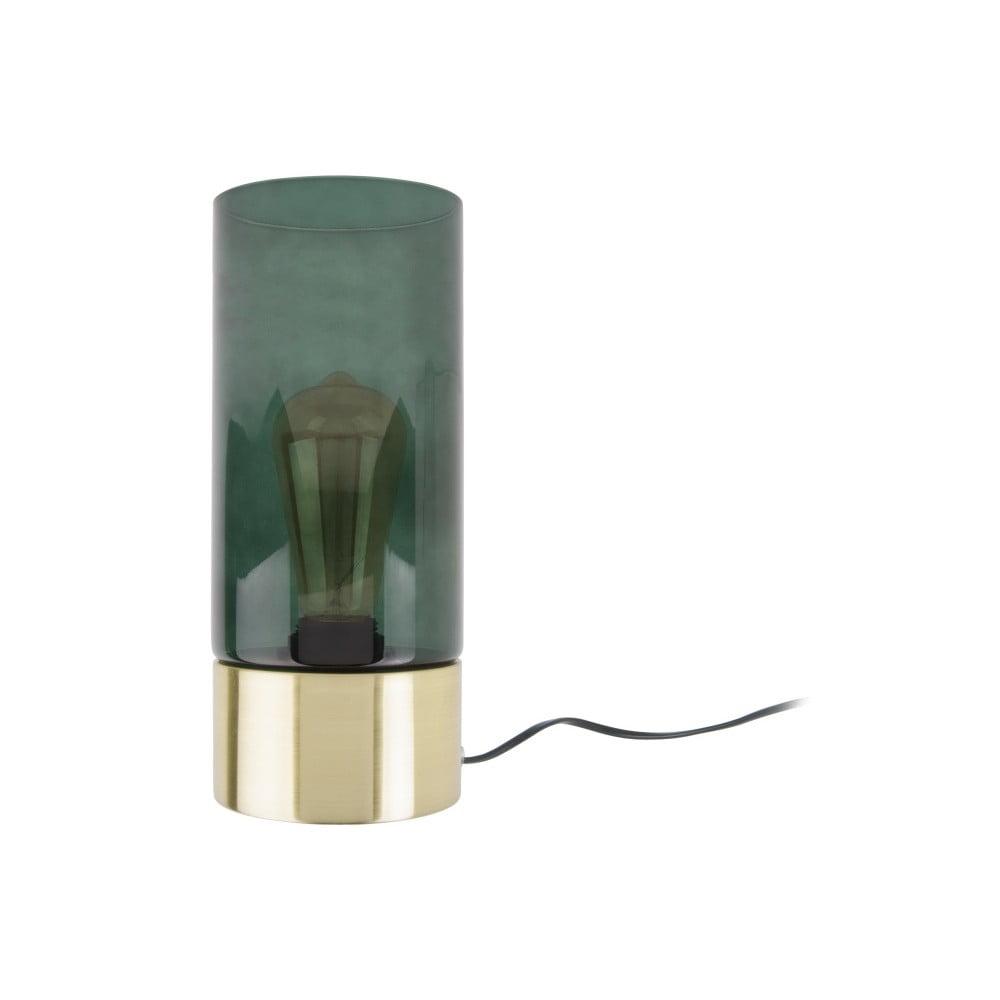 Zielona lampa stołowa Leitmotiv LAX