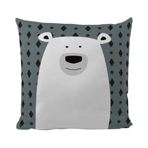 Poduszka Mr. Little Fox Polar Bear, 50x50cm