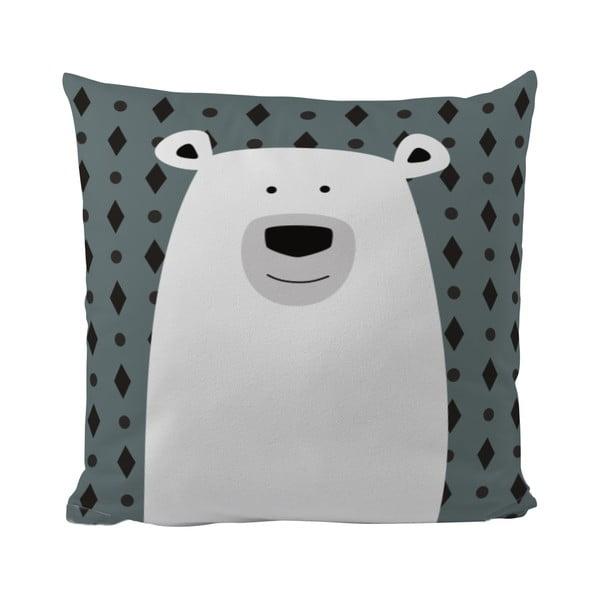 Poduszka Mr. Little Fox Polar Bear, 50x50 cm